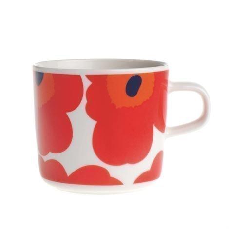 Marimekko Unikko Kahvikuppi Punainen