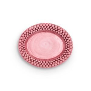 Mateus Bubbles Ovaali Lautanen Vaaleanpunainen 20 Cm