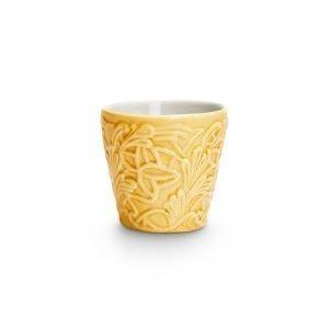 Mateus Lace Espressokuppi Keltainen 10 Cl