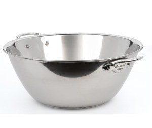 Mauviel Cook Style Hillopata kiillotettua terästä 5