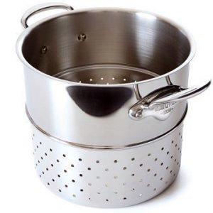 Mauviel Cook Style Pastaosa kiillotettua terästä Ø 24 cm