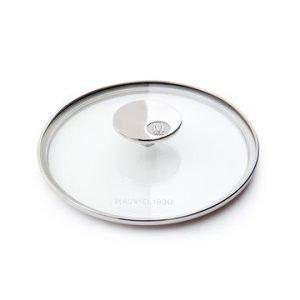 Mauviel M'360 Lasikansi Ø18cm Lasi/Teräs