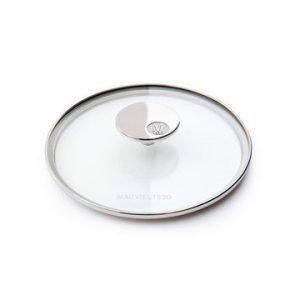 Mauviel M'360 Lasikansi lasi/teräs Ø 16 cm