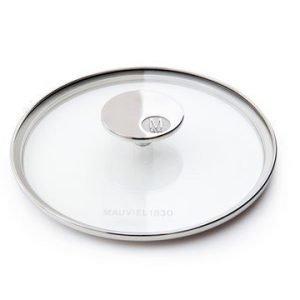 Mauviel M'360 Lasikansi lasi/teräs Ø 24 cm