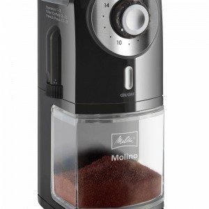 Melitta Molino Kahvimylly Musta