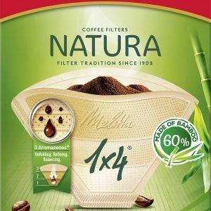 Melitta Natura 1x4 Suodatinpussi 80 Kpl
