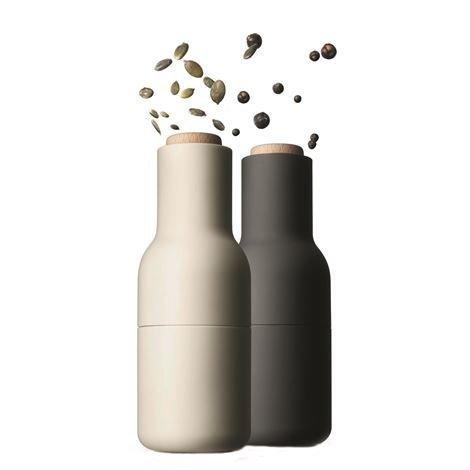 Menu Bottle Mylly 2 kpl Pakkaus Harmaa-Valkoinen Puukansi