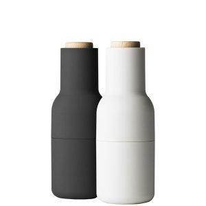 Menu Bottle Suola- Ja Pippurimylly Harmaa 2 Kpl