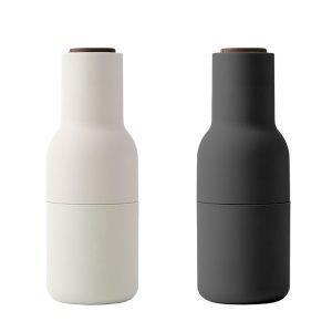 Menu Bottle Suola- Ja Pippurimylly Harmaa / Pähkinä 2 Kpl