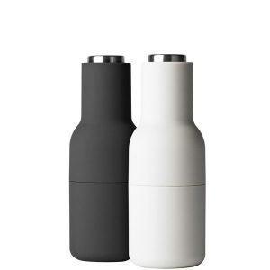 Menu Bottle Suola- Ja Pippurimylly Harmaa / Teräs 2 Kpl