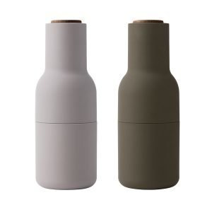 Menu Bottle Suola- Ja Pippurimylly Hunting Green Beige