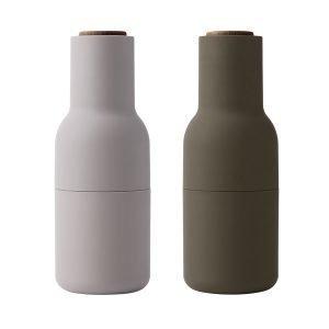 Menu Bottle Suola- Ja Pippurimylly Hunting Green Beige