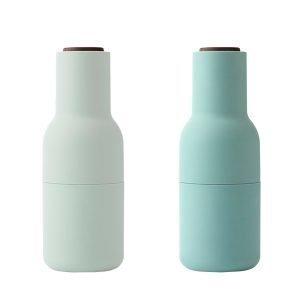 Menu Bottle Suola- Ja Pippurimylly Moss Green 2 Kpl