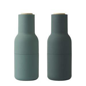 Menu Bottle Suola- Ja Pippurimylly Tummanvihreä 2 Kpl