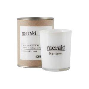 Meraki Tuoksukynttilä Fig & Apricot 6.7 Cm