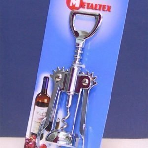 Metaltex Viinipullonavaaja Siivillä