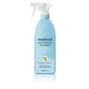 Method Puhdistusaine kylpyhuoneeseen