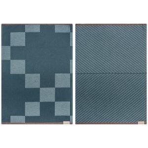 Mette Ditmer Notabene Keittiöpyyhe 2 Pack Tummansininen 50x70 Cm