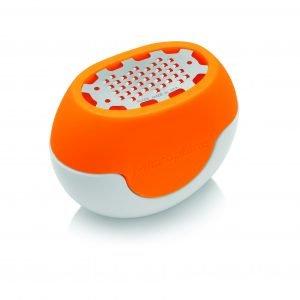 Microplane Flexi Sitrusraastin Oranssi