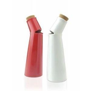 Mint Inc. Salad Song öljy- tai viinietikkapullo valkoinen