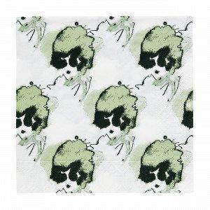 Mme Couture Paperiservetit Keskivihreä
