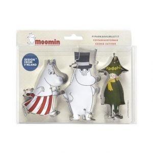 Moomin Piparkakkumuotti 3 Kpl