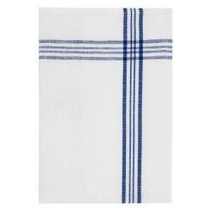 Morberg Keittiöpyyhe Sininen / Valkoinen 50x70 Cm 2-Pakkaus