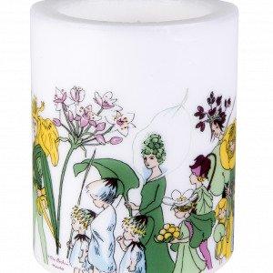 Muurla Elsa Beskow Kynttilä Kukkaiskansa Valkoinen 12 Cm