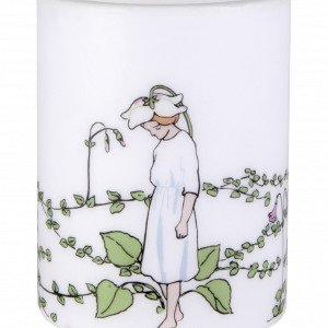 Muurla Elsa Beskow Kynttilä Talvikki Valkoinen 12 Cm