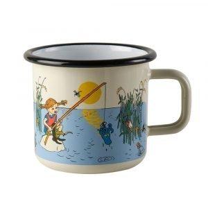 Muurla Peppi Pitkätossu Muki Pippi Fishing 3