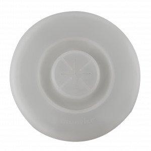 Muurla Silikonikansi Valkoinen 9 Cm