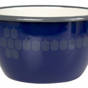 Muurla Vappu Keittiössä Emalikulho Sininen 60 Cl