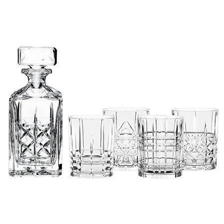 Nachtmann Highland Whiskeykaraff och 4 st glas
