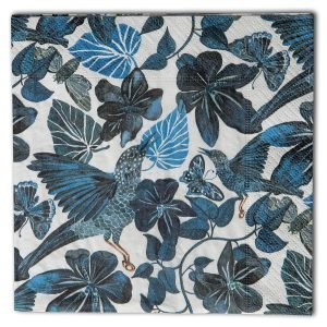 Nadja Wedin Design Blues Servetti Sininen 33x33 Cm 20-Pakkaus