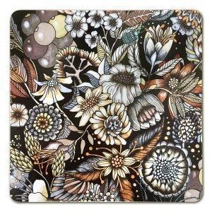 Nadja Wedin Design Flores Pannunalunen Ruskea 21x21 Cm