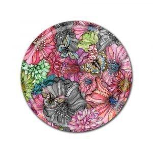 Nadja Wedin Design Flower Power Tarjotin Rose Ø38 Cm