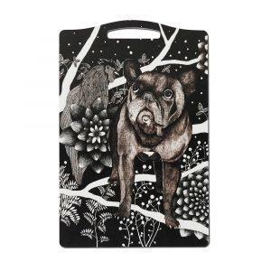 Nadja Wedin Design Franska Hunden Leikkuulauta 20x30 Cm