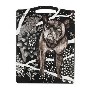 Nadja Wedin Design Franska Hunden Leikkuulauta 30x40 Cm