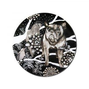 Nadja Wedin Design Franska Hunden Pannunalunen Ø21 Cm