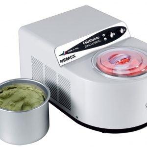 Nemox Gelatissimo Exclusive Jäätelökone Valkoinen 1.7 L