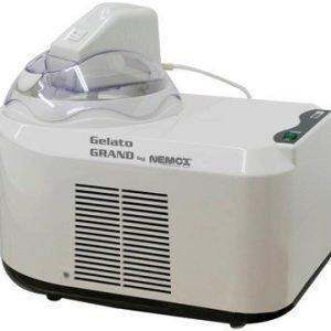Nemox Gelato Grand Jäätelökone Valkoinen/läpinäkyvä 1