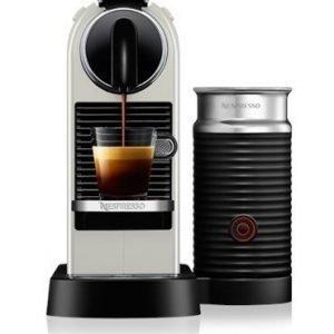 Nespresso Citiz & Milk 2 Valkoinen Kahvikone
