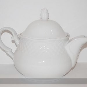 Nn Valkoinen Teekannu Afrodyta 1