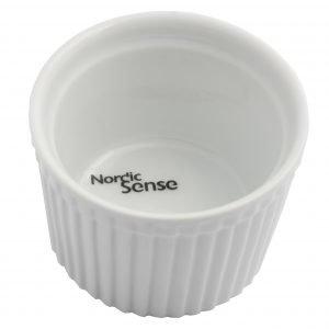 Nordic Sense Annosvuoka Valkoinen 7.4 Cm