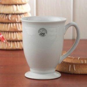 Nordic Sense Kahvikuppi jalallinen 33 cl valkoinen