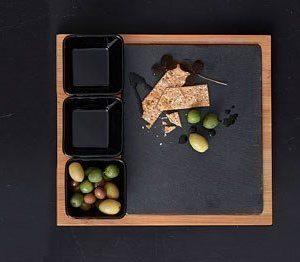 Nordic Sense SnackSetti 4 osaa Musta/Skiffer