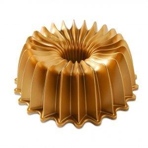 Nordic Ware Brilliance Bundt Pan Leivontavuoka Alumiini Kulta