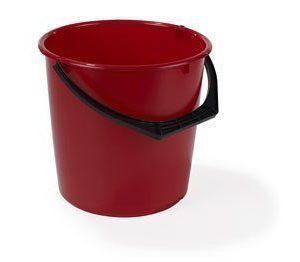 Nordiska Plast Muoviämpäri 10L Punainen