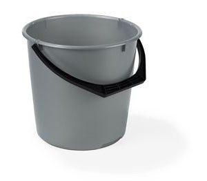 Nordiska Plast Muoviämpäri 10L Silver