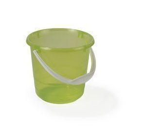 Nordiska Plast Muoviämpäri 5L läpinäkyvä/vihreä pohjoism.
